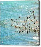 Chicagos Oak St. Beach Acrylic Print