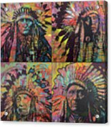 Chiefs Quadrant Acrylic Print