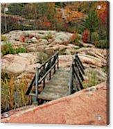 Chikanishing Trail Boardwalk II Acrylic Print