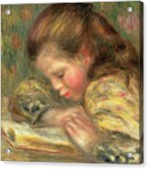 Child Reading, 1890  Acrylic Print