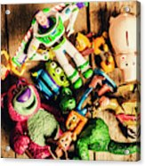 Childhood Collectibles Acrylic Print