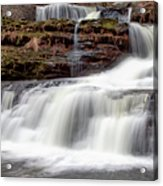 Childs Park Waterfall Acrylic Print
