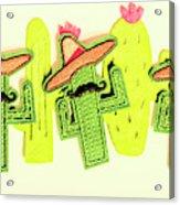 Chili Con Cacti Acrylic Print