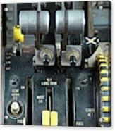 China Southern Md-82 Throttle Acrylic Print