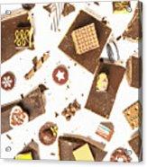 Chocolate Bar Break Acrylic Print