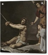 Christ After The Flagellation Contemplated By The Christian Soul Acrylic Print