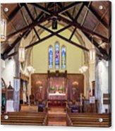 Christ Episcopal Interior Acrylic Print