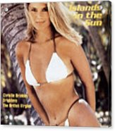 Christie Brinkley Swimsuit 1980 Sports Illustrated Cover Acrylic Print
