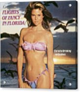 Christie Brinkley Swimsuit 1981 Sports Illustrated Cover Acrylic Print