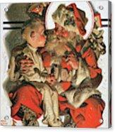 Christmas Eve - Digital Remastered Edition Acrylic Print