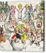 Christmas Fairy Tale Acrylic Print