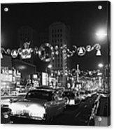 Christmas In Hollywood Acrylic Print