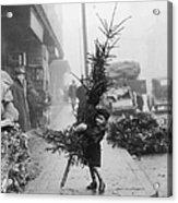 Christmas Tree Shopping Acrylic Print