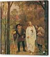Christus Und Die J Nger Von Emmaus 1914 Acrylic Print