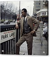 Chuck Berry On Park Lane Acrylic Print