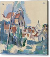 Church At Montigny Sur Loing, 1898  Acrylic Print