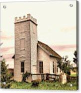Church In Bowman North Dakota Acrylic Print