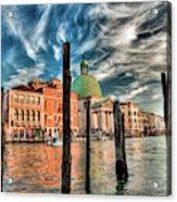 Church Of San Simeone Piccolo, Venice Acrylic Print