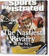 Cincinnati Bengals Caleb Miller... Sports Illustrated Cover Acrylic Print