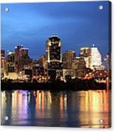 Cincinnati Skyline, Ohio Acrylic Print