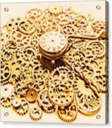 Circular Mechanics Acrylic Print