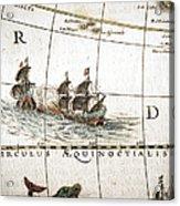 Circulus Aequinoctalis, Historical Map Acrylic Print