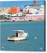 City Of Hamilton Bermuda Acrylic Print