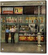 City - Oklahoma Ok - A Magazine For The Ride Home 1939 Acrylic Print