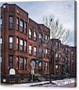 Cityview Cooperative, Minneapolis Acrylic Print