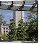 Civic Center Metro Station Los Angeles Acrylic Print