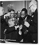 Civil Rights Bill Acrylic Print
