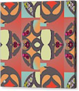Claire Pattern Acrylic Print