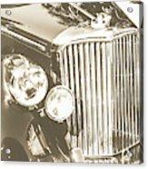 Classic Car Chrome Acrylic Print