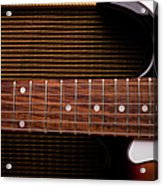 Classic Electric Guitar And Amp Still Acrylic Print