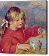 Claude Renoir At Play Acrylic Print