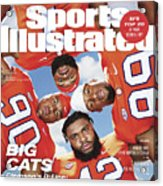 Clemson University Defensive Line, 2018 College Football Sports Illustrated Cover Acrylic Print