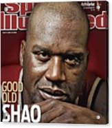 Cleveland Cavaliers Shaquille Oneal Sports Illustrated Cover Acrylic Print