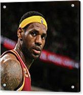 Cleveland Cavaliers V Boston Celtics Acrylic Print