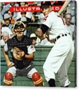 Cleveland Indians Al Rosen... Sports Illustrated Cover Acrylic Print