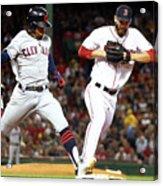 Cleveland Indians V Boston Red Sox Acrylic Print