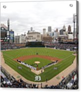 Cleveland Indians V Detroit Tigers Acrylic Print