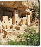 Cliff Palace In Mesa Verde, Colorado Acrylic Print