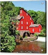 Clinton Mill IIi Acrylic Print