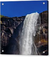 Close Up Bridalveil Falls Acrylic Print