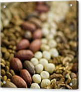 Close Up Of Variety Of Nuts Acrylic Print