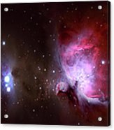 Closeup Of The Great Orion Nebula Acrylic Print