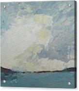 Cloud Above The Sea Acrylic Print
