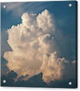 Cloud On Sky Acrylic Print