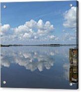 Cloud Reflections Acrylic Print
