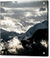Clouds Above All Acrylic Print